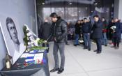 Ръководството на Левски отдаде почит на Павел Панов<strong> източник: Lap.bg</strong>