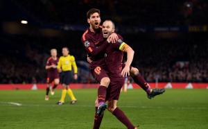 Прокобата за Меси срещу Челси свърши, гонитбата обаче продължава