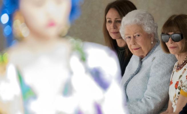 Кралицата на събитие с Наоми Кембъл и Ана Уинтур