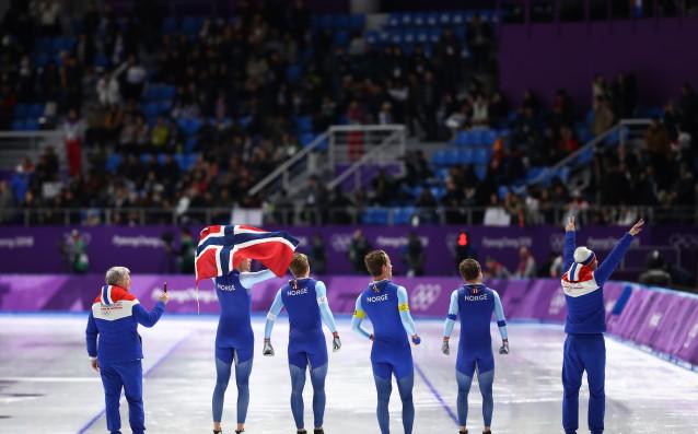 Норвегия прибави 13-о злато от Олимпиадата в Пьонгчанг след титла