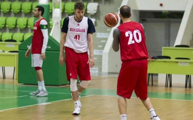 Радостта в щаба на националния отбор по баскетбол за мъже