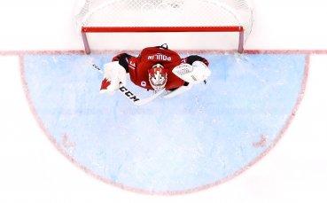 България с победа над Турция на световното първенство по хокей на лед