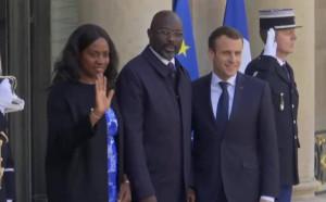 Джордж Уеа на първа официална визита във Франция