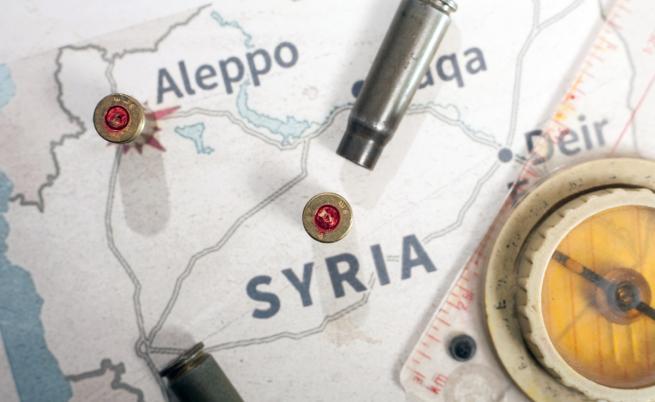 Кои страни имат военни бази в Сирия