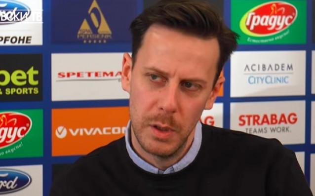 Английският футболен експерт Саймън Уилсън изкара една седмица с Левски