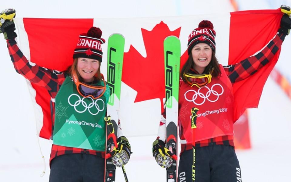 Канада вече с рекорден брой медали от Зимни олимпийски игри