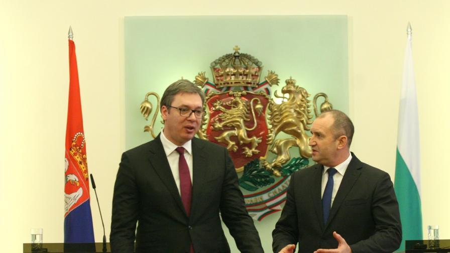 Радев иска повече подкрепа за българите в Сърбия