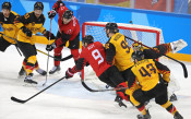 Германия - Канада 4:3<strong> източник: БГНЕС</strong>