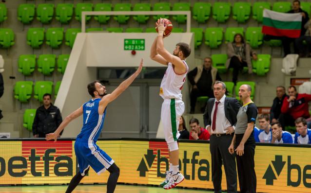 Националният отбор на България по баскетбол записа втора загуба в