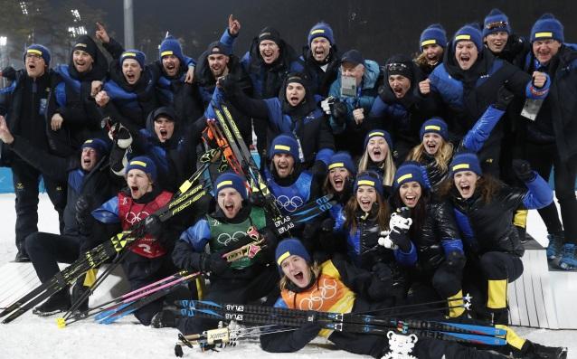Националите на Швеция<strong> източник: БГНЕС</strong>