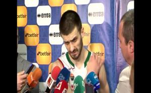 Станимир Маринов: Загубихме заради слабата трета част
