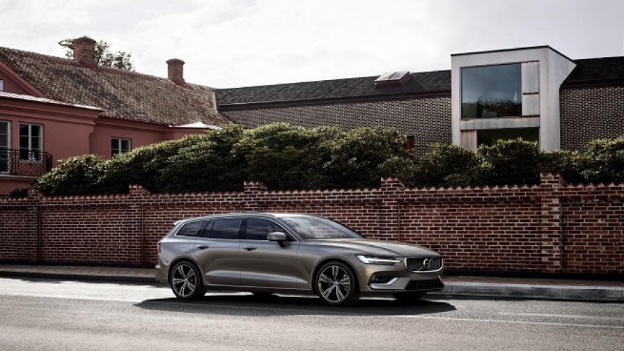 Нов прочит на традиционното семейно комби с Volvo V60