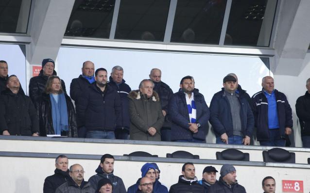 Големият бос на Левски в ложите на Националния стадион
