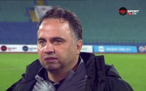 Митов: Ще си поговоря сериозно с футболистите