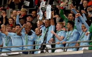 Манчестър Сити разби Арсенал и грабна Купата на Лигата, Пеп с първи трофей