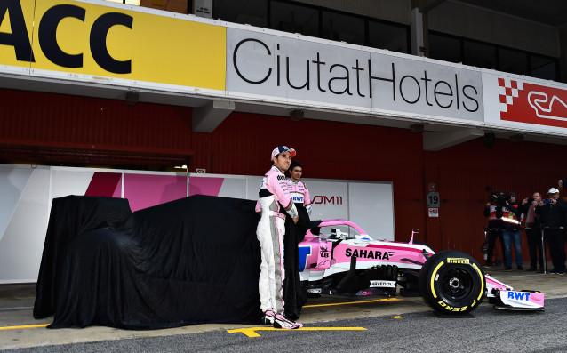 Форс Индия представи болида си за новия сезон във Формула