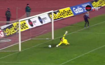 Вторият гол на Габриел Обертан за Левски срещу Септември