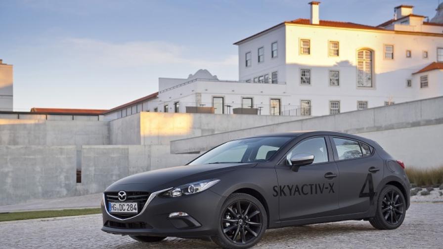 Mazda Skyactive-X: бъдещето на бензиновия двигател?