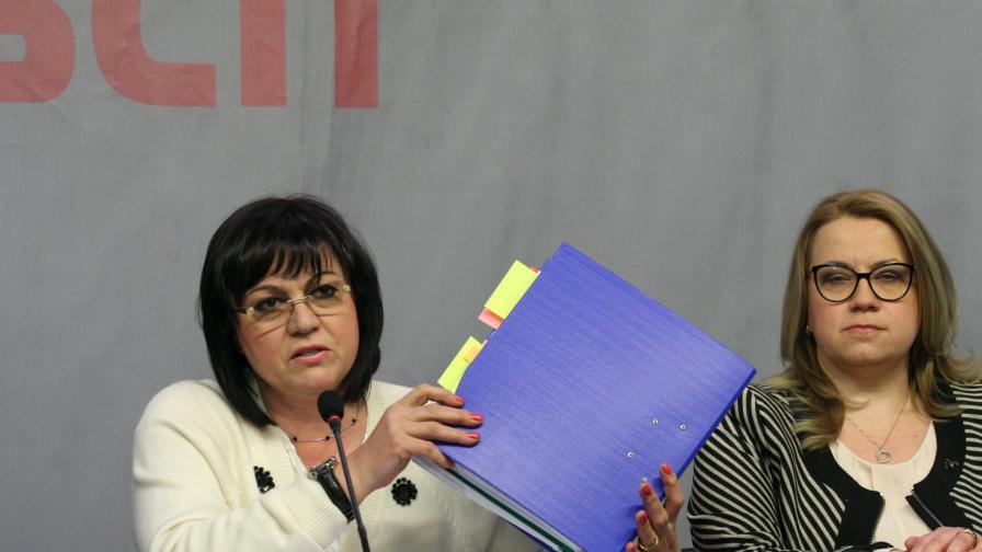 Нинова за ЧЕЗ: Борисов носи лична отговорност