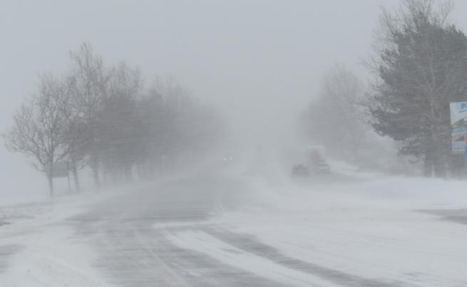 Първи сняг в Гърция падна