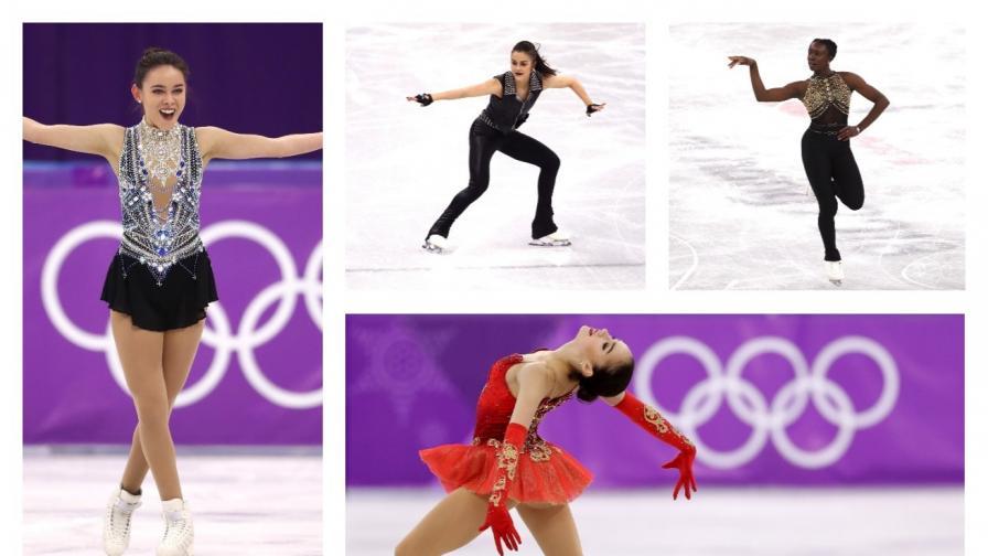 Най-добрите костюми на фигуристки от Олимпиадата в Пьонгчанг