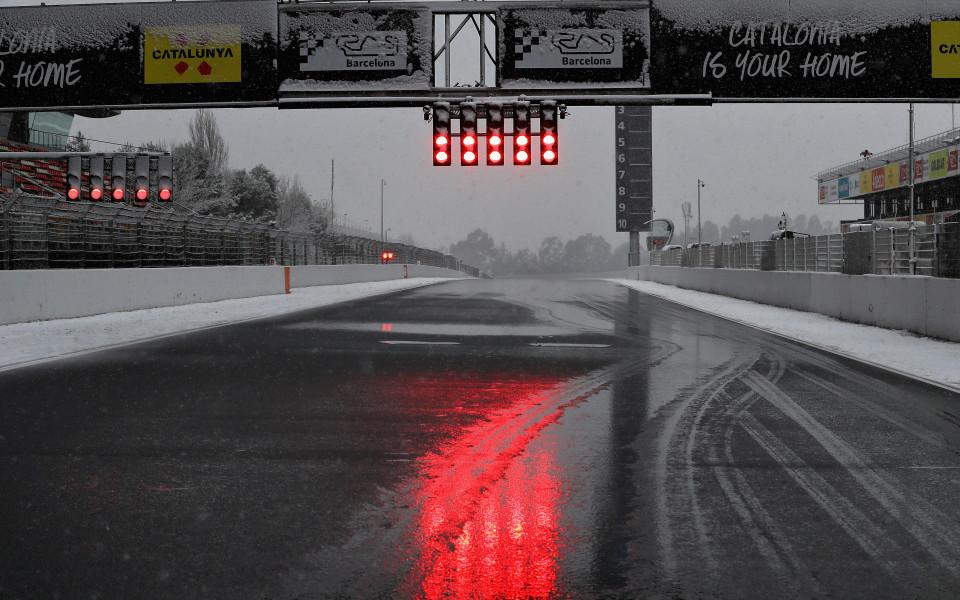 Ето как срядата се оказа почивен ден за Ф1 в Каталуня