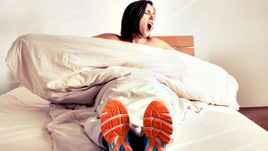 Сънят или тренировката - кое е по-важно?