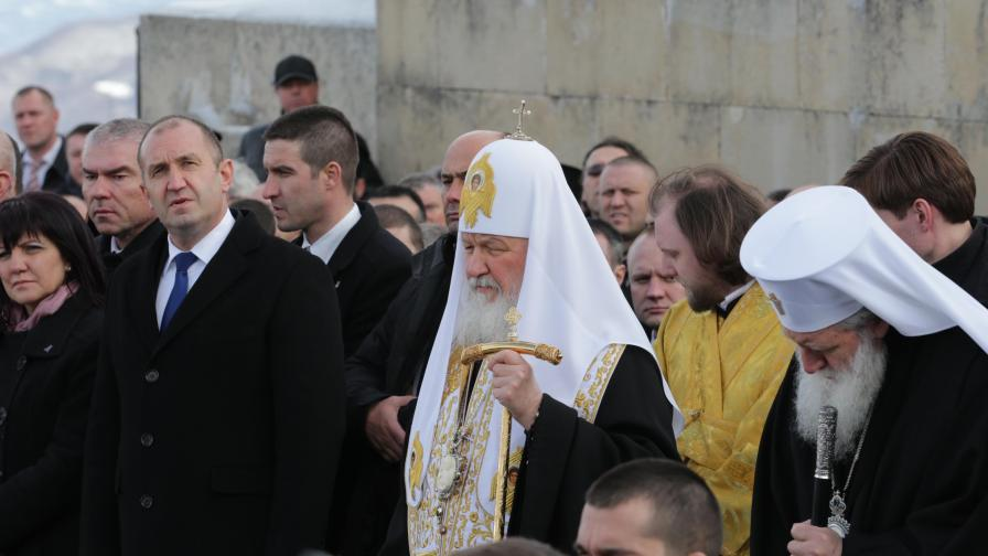 Патриарх Кирил на Шипка: Тук е свещено място