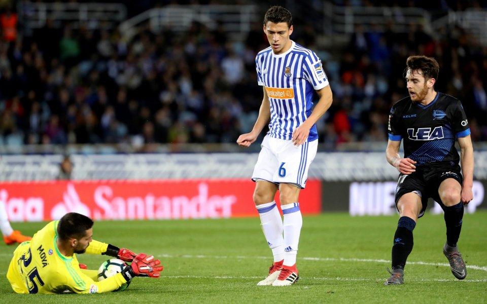 Реал Сосиедад взе три точки в малкото баско дерби
