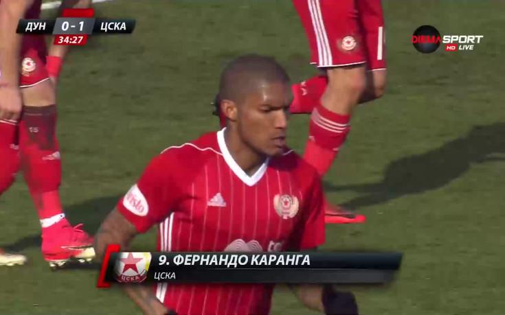 С доза късмет Каранга прати топката в мрежата на Дунав