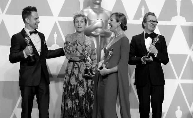 """Наградите """"Оскар"""" 2018: Предвидима и приятна звездна вечер"""