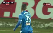Яблонски е Играч на мача Черно море - Левски