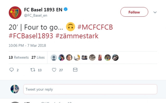 <strong> източник: twitter.com/FC_Basel_en</strong>
