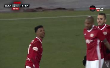 Гол на Енрике донесе драматичната победа за ЦСКА