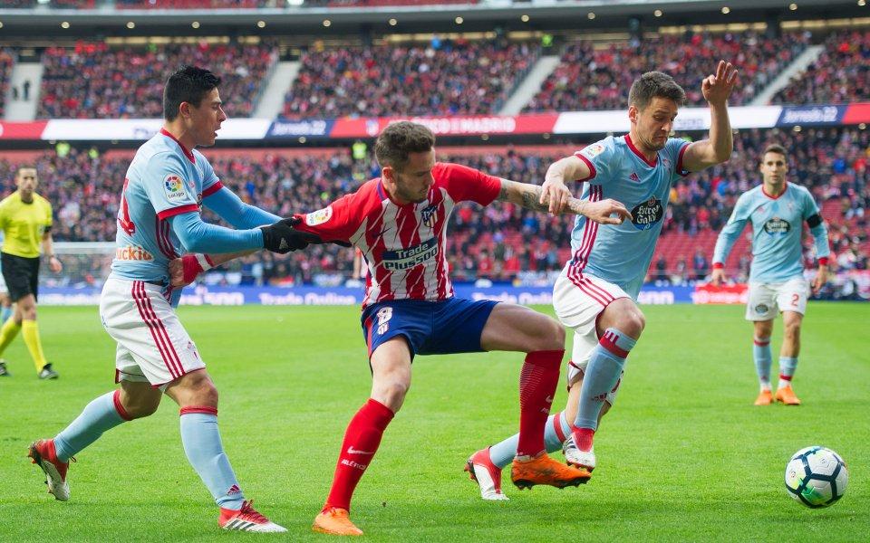 Малко голове между Селта и Атлетико Мадрид