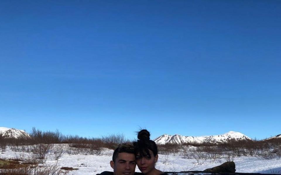 Зимната приказка на Роналдо и Джорджина