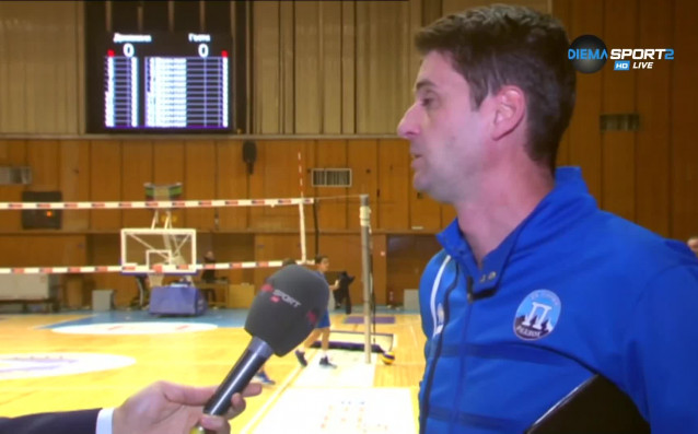 Старши треньорът на волейболния Пирин Разлог – Северин Димитров очаквано