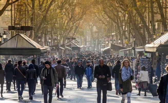 "Булевард ""Ла Рамбла"" в Барселона"