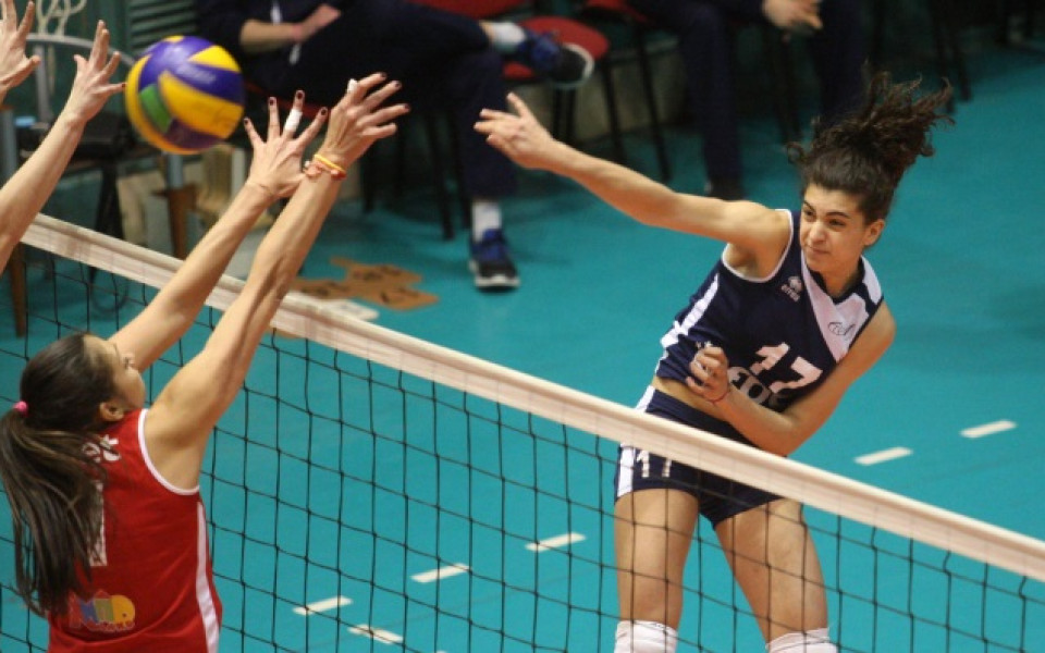 Чехкини отстраниха Левски за Купата на CEV