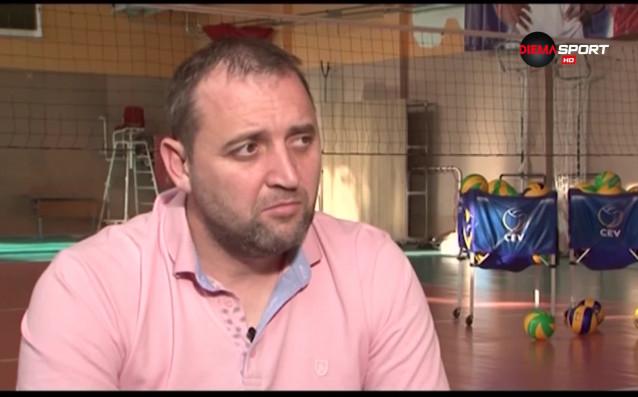 Новият национален селекционер на жените Иван Петков даде обширно интервю