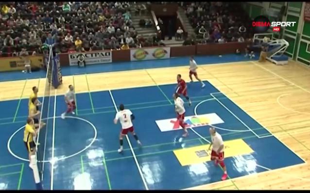 Вижте обзор на първите мачове от 1/4-финалите във волейболното първенство