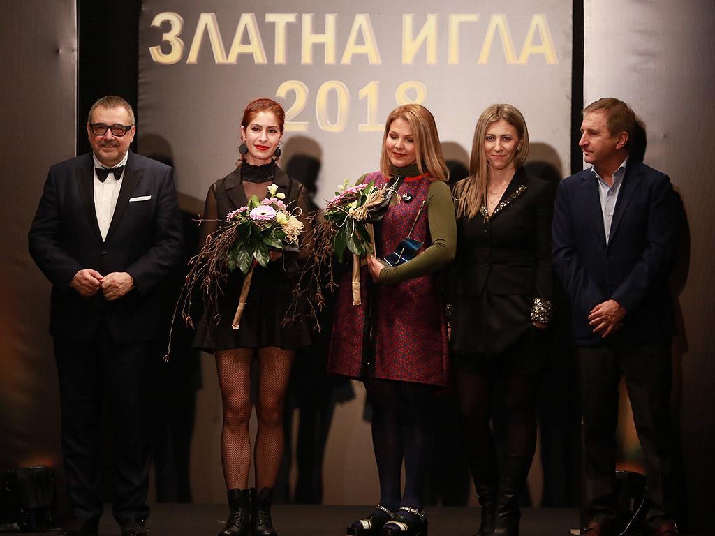 """Награда за """"Модна къща на годината"""" получи бранда на Антония Йорданова и Кристина Бъчварова.,"""