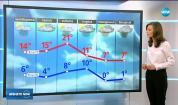 Прогноза за времето (15.03.2018 - обедна емисия)