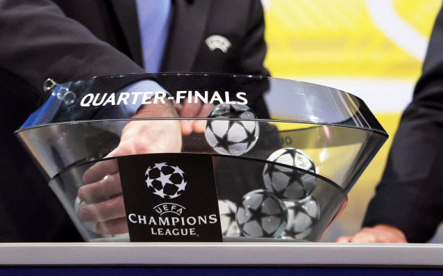 Малко след жребия за 1/4-финалите в Шампионска лига, бяха обявени
