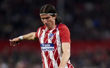Атлетико Мадрид загуби и Филипе Луис