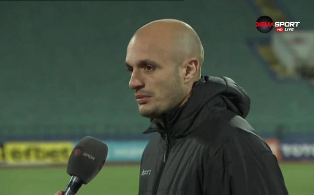 Нападателят на Септември Мирослав Будинов бе избран за Играч на