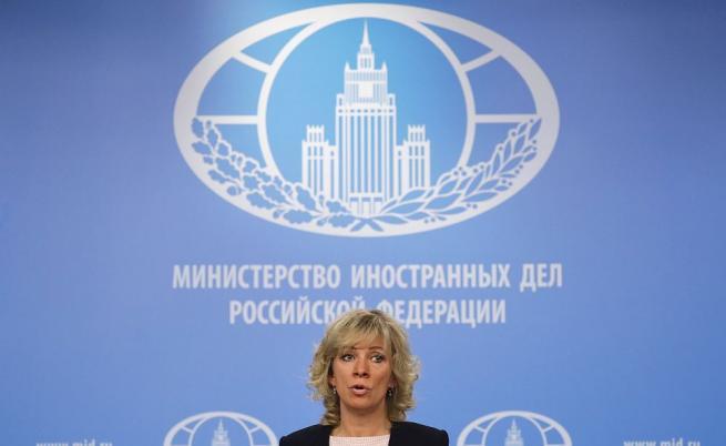 Говорителката на руското МВнР Мария Захарова