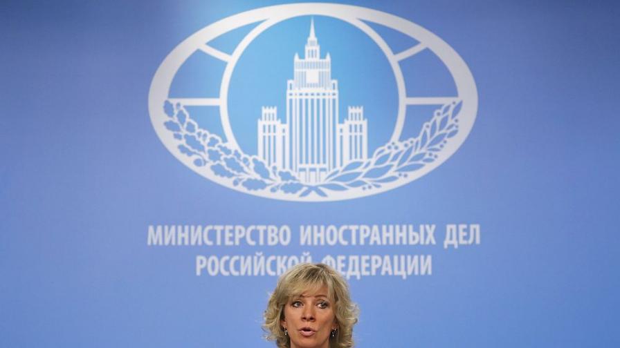 """Мария Захарова с няколко предположения кой е източникът на """"Новичок"""""""
