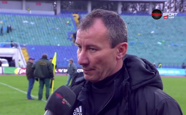 Старши треньорът на ЦСКА Стамен Белчев беше изключително доволен от