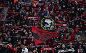 Стотици фенове на  Кьолн и Леверкузен  участваха в сбиване